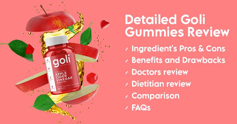 goli apple cider vinegar gummies review banner